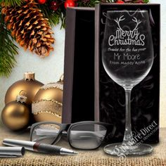 Spoil the teachers this year with their own personalised engraved wine glass for christmas. Your child can say Than You in style for the years hard work, with a unique personalsied gift that teachers are sure to love and put to good use over christmas break.