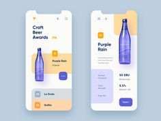 Craft Beer Awards designed by Guillaume Hoareau. Connect with them on Dribbble; the global community for designers and creative professionals. Best Ui Design, App Ui Design, User Interface Design, Design Websites, Design Design, Website Design Layout, Design Layouts, Website Designs, Web Layout