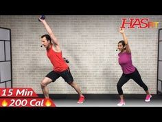 15 Minute Standing Abs Workout - 15 Min Abs & Standing Cardio - Standing Ab Workout for Women & Men - YouTube