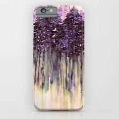 NORTHWEST VIBES Colorful Watercolor Painting Forest Trees Violet Green Modern Nature Art West Coast Cell Phone Case, iPhone Case, Samsung Galaxy, iPod Case, by Ebi Emporium Artist Julia Di Sano, #tech #case #iPhoneCase #iPhone5 #iPhone6 #iPhone6s #iPhone6Plus #Samsung #iPodCase #pnw #purple #trees #forest #watercolor #painting #art #cool #portland #seattle #vancouver #society6