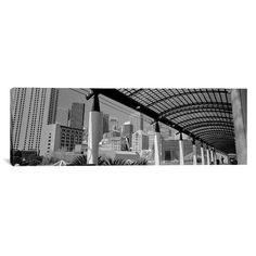 """East Urban Home Panoramic San Francisco, California Photographic Print on Canvas Size: 20"""" H x 60"""" W x 1.5"""" D"""