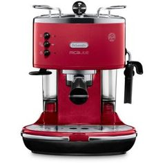 Buy De'Longhi Micalite Espresso Coffee Machine - Red at Argos.co.uk - Your Online Shop for Coffee machines.