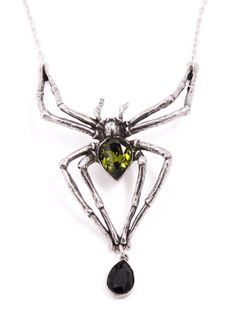 """Emerald Venom"" Necklace by Alchemy of England"