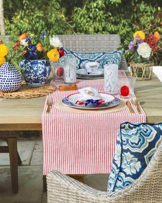 Broken Home, Southern Ladies, Outdoor Furniture, Outdoor Decor, Fourth Of July, Summer Fun, Tablescapes, Summertime, Backdrops
