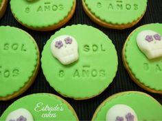 Estrade's cakes: galletas con calaveras