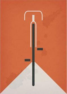 Bauhaus Design Poster - Scwhinn Super Baloon tires circa 1930 (Kenneth Crispus)