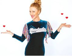 Gosia Bezubik w sukience MissSpark CHEERLEADER