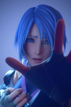 Aqua is my FAVORITE character from Kingdom Hearts. I lover her, she's gone through so much...