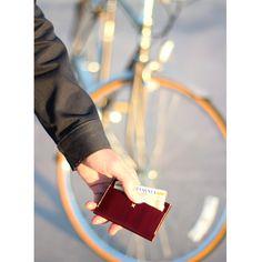 JAQET Redwood Slim Card wallet $85