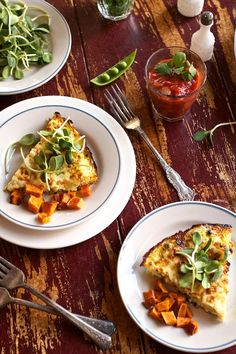 Baby Peas and Cheese Frittata Recipe | Healthy Breakfast, Lunch or Dinner on MarlaMeridith.com