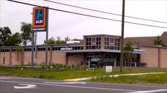 Aldi Grocery Store Martinsburg, West Virginia.