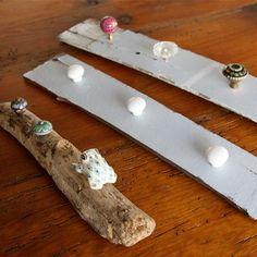 3 DIY jewelry holders (plus a great way to display handmade knobs!)