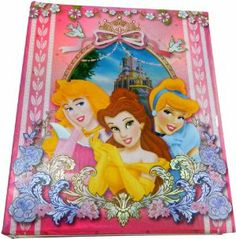 Disney Princess Photo Album, Medium by Disney. $16.99. Holds 200 photos. Perfect for personal family photos. Can be personalized with letters stickers inside the album. From the Manufacturer                Disney's most famous princesses join together in this colored photo album by Monogram International. The vibrantly colored front cover features Cinderella, Belle, and Aurora smiling in front of a castle. A perfect gift for any fan of Disney's princesses.         ...
