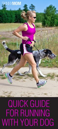 Quick Guide For Running With You Dog! Make sure you read if you have a dog and you like to run with them! Very important article!!!