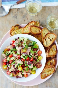 Recipe: Greek-Style Tuna Salad — Quick and Easy Weeknight Dinners #recipes #food #kitchen