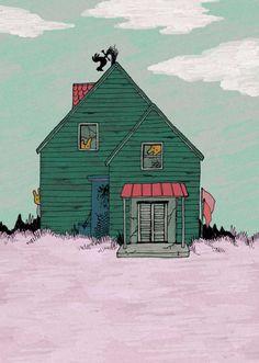 Residents of deserted house