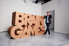 Brain Games on Nat Geo - excellent show!  Very interesting show and you learn all kinds of stuff about your brain!