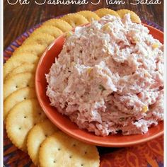 Ham Salad is my favorite way to use up leftover ham. For a delicious treat, serve this Ham Salad with butter crackers and slices of Swiss cheese. It is crazy delicious. Enjoy!