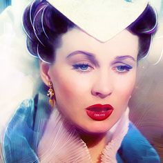 Scarlett O'Hara. Sad for a second. After all, tomorrow is another day.Gone With the Wind. '39.