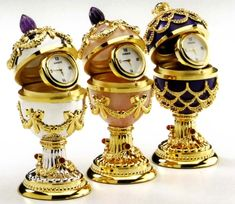 w/ watches - Unique Jewelry Faberge Collection