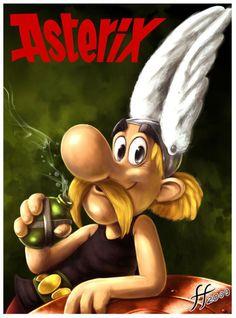 Top 30 des plus beaux «fan art» originaux d'Asterix et Obelix