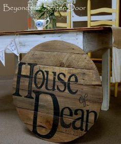 The Dean Wedding ~ Craft Ideas | Beyond the Screen Door | Decorating