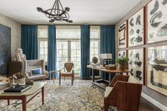 A Final Look at the SF Decorator Showcase: The Study by Stephan Jones   Rue
