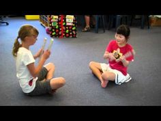 the Maori Stick game builds coordination and working together skills! Motor Skills Activities, Movement Activities, Music Activities, Dance Games, Music Games, Dance Music, Physical Education Games, Music Education, Games For Little Kids