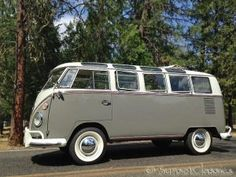 Have a 1966 21-Window Bus Finished to Your Specifications