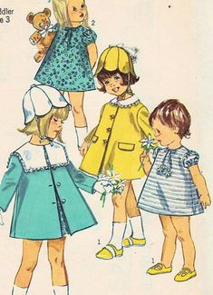 Simplicity 6949 Toddler Girls Party, Flower Girl Dress and Coat Vintage 1960s Sewing Pattern Size 3 (Breast 22) Vintage Wedding Simplicity,http://www.amazon.com/dp/B00ITYVG8Y/ref=cm_sw_r_pi_dp_4t0qtb1NGA818H1Y