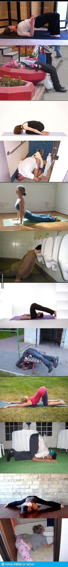 Yoga vs Booze. Oh dear, I just about died laughing!