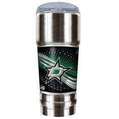 Dallas Stars 32-Ounce Pro Stainless Steel Tumbler, Multicolor