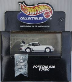 Amazon.com: Hot Wheels Collectibles Porsche 930 Turbo Limited Edition for the Adult Collector 1:64 Scale Die-cast Car: Toys & Games