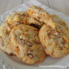 Sweet Potato Cinnamon Chip Toffee Cookies