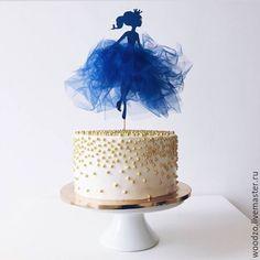 """Купить Топер в торт """"Фея"""" - топер, топер на день рождения, деньрождения, принцесса, Принцесса на горошине"""