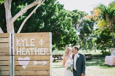 backyard wedding  | Glam Backyard Wedding: Heather + Kyle | Green Wedding Shoes Wedding ...