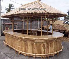 bamboo bar - Google Search Bungalow, Restaurant Layout, Garden Archway, Bamboo Bar, Bar Plans, Construction, Microsoft Office, Outdoor Furniture, Outdoor Decor