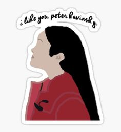 Regalos y productos: To All The Boys I Loved Before Macbook Stickers, Phone Stickers, Cool Stickers, Printable Stickers, Planner Stickers, Overlays, Tumblr Png, Rolling Stones Logo, Emoji Love