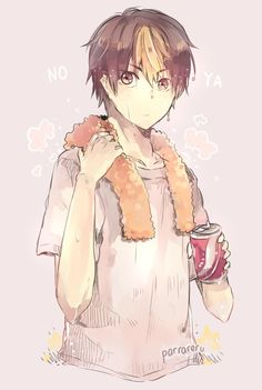 Nishinoya is so cute.