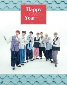 Happy New Year with #방탄도령단