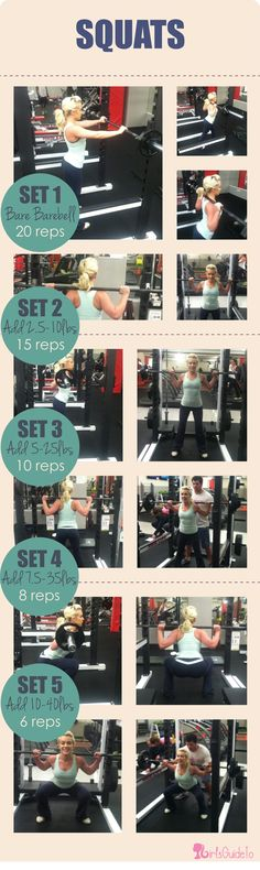 GirlsGuideTo | Workout Wednesday: Squat Till You Drop | GirlsGuideTo -- Squats are great for toning your body and are an easy beginner's move to strength training
