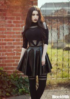 Threnody In Velvet. I don't like the wet-look skirt, but the rest is cool.