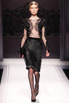 Alberta Ferretti Fall 2012 Ready-to-Wear Fashion Show - Elsa Sylvan