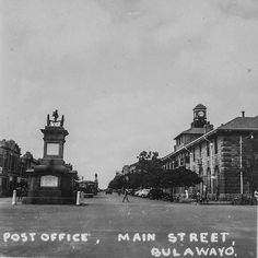 Zimbabwe, Post Office, Main Street, Maine, Africa, School, Movies, Movie Posters, Painting