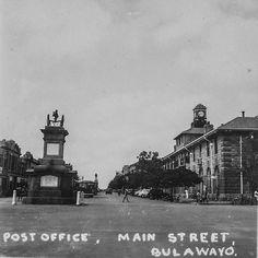 Zimbabwe, Post Office, Main Street, Maine, Africa, School, Movies, Movie Posters, Painting