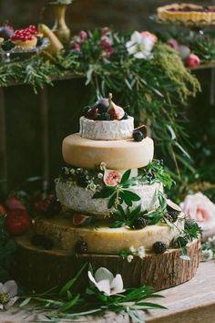 Guide pour créer sa pièce montée de fromages - idée mariage bohème chic - blog mariage Mademoiselle Cereza