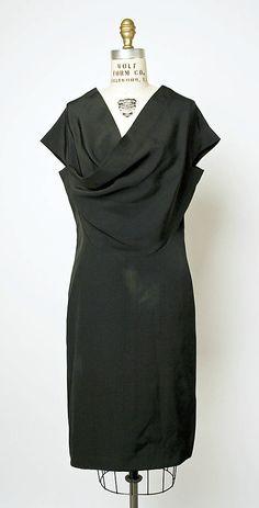 Dress  House of Balenciaga (French, founded 1937)  Designer: Cristobal Balenciaga (Spanish, 1895–1972) Date: 1966
