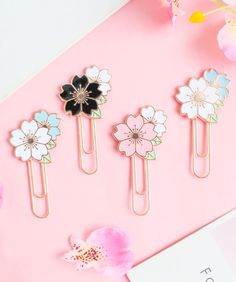 Keep your notebook organized with our cute paper and magnetic bookmarks. Shop all designs at Kawaii Pen Shop. Sakura Cherry Blossom, Cherry Blossom Season, Cute Stationary, Stationary Supplies, Kawaii Pens, Pen Shop, Cute School Supplies, Stationery Items, Diy Keychain