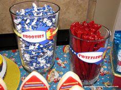 GreyGrey Designs: {My Parties} Greyson's Retro Rocket 2nd Birthday Party!