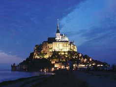Le Mont Saint-Michel , France